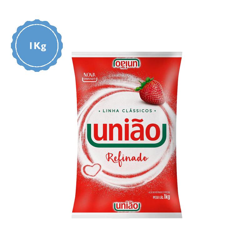 Açúcar União Pacote 1Kg  - Higinet