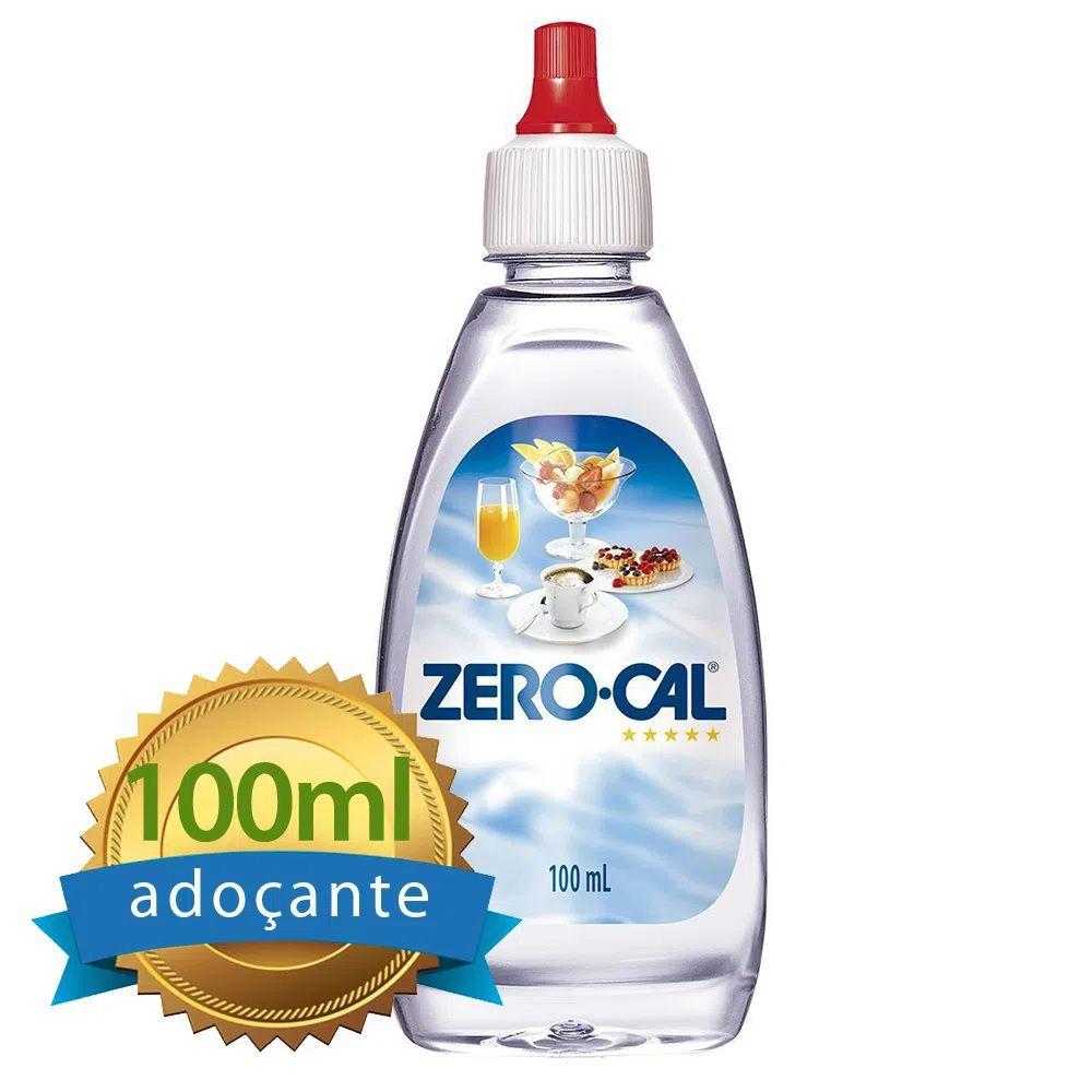 Adoçante Zero-Cal Líquido frasco 100ml  - Higinet