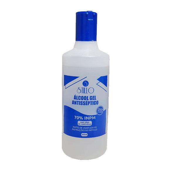 Álcool Gel para Mãos Frasco 500ml Stillo  - Higinet