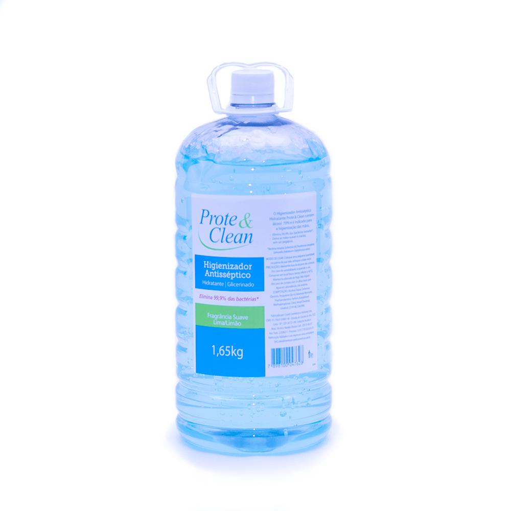 Álcool Gel Prote&Clean Galão 1,65kg  - Higinet