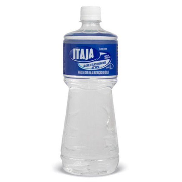 Alcool Líquido Teor 46° Frasco 1 Litro  - Higinet