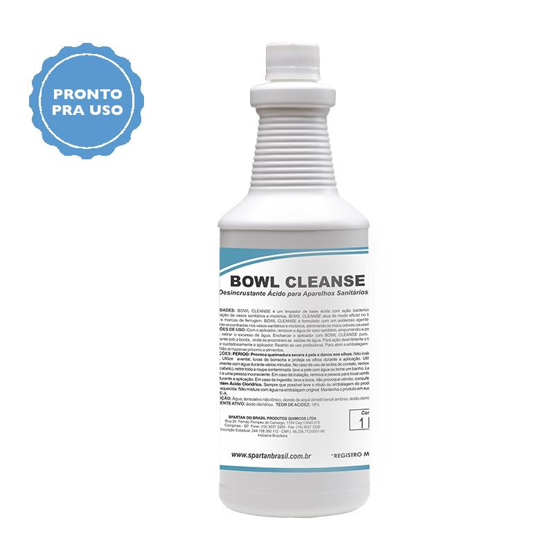 Bowl CLeanse - Limpador de Ferrugem 1 Litro  - Higinet
