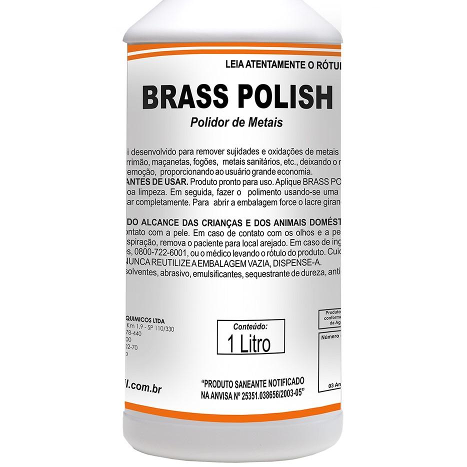 Brass Polish - Polidor de Metais 1 litro  - Higinet