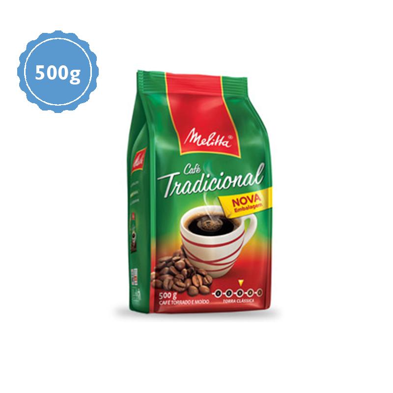 Café Melitta Almofada Tradicional 500g  - Higinet