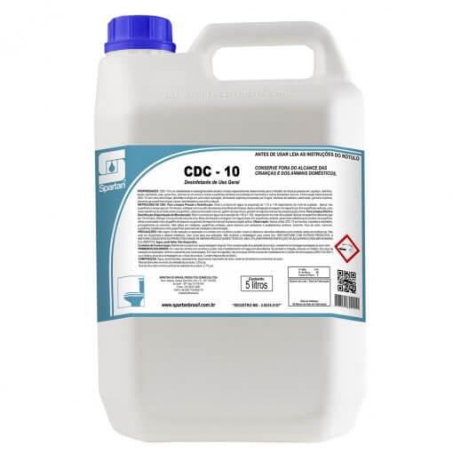 CDC-10 - Desinfetante Limpador Clorado 5 Litros  - Higinet
