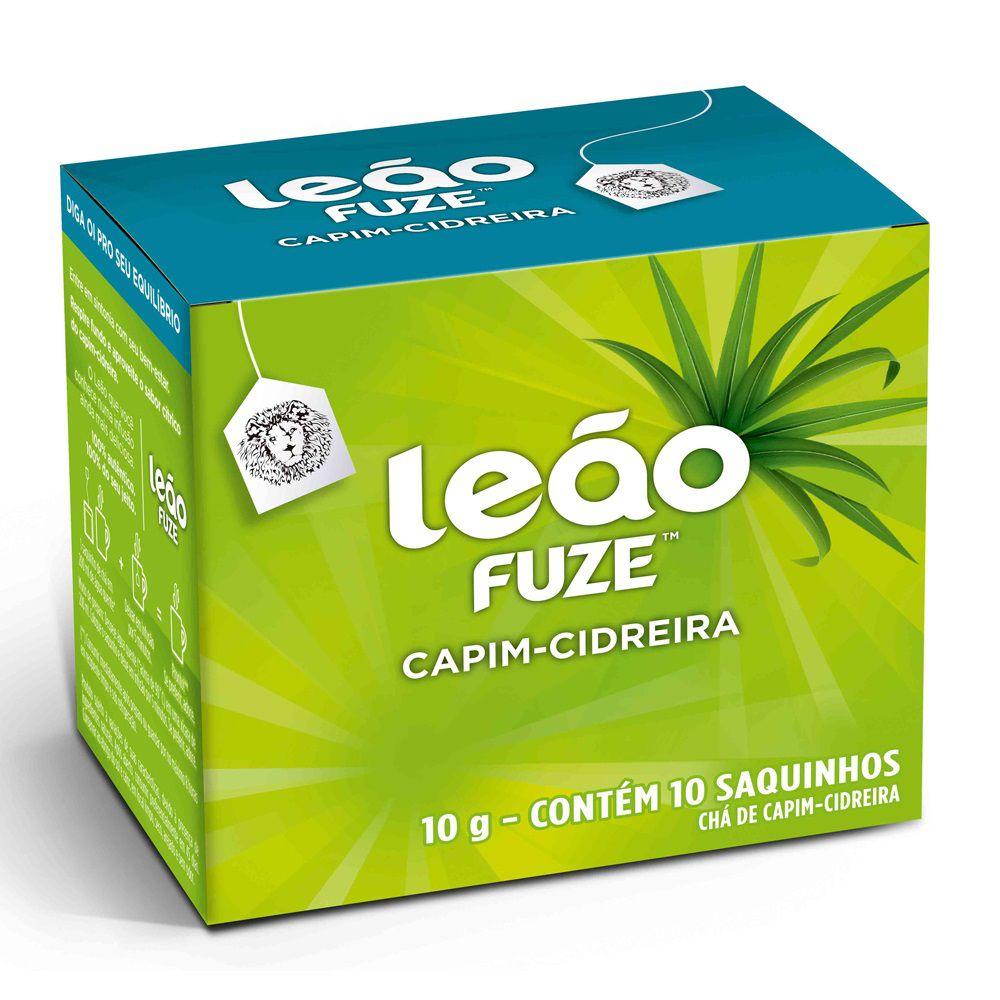 Chá Leão De Cidreira Com 10 Sachês  - Higinet