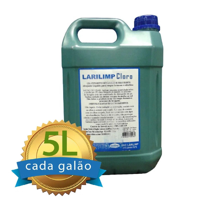 Cloro Galão 5L Larilimp  - Higinet