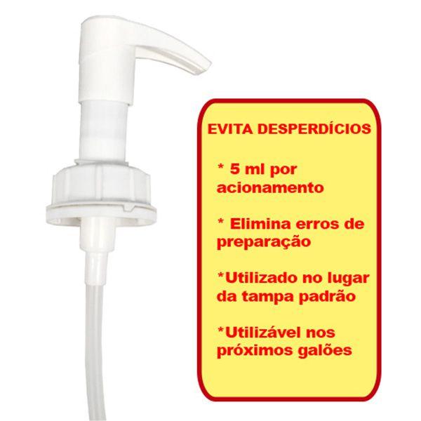 Válvula Pump Dosadora para Galão de 2 Litros  - Higinet