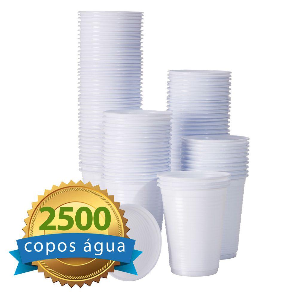 Copo Descartável Ps 200ml caixa com 2500 unidades  - Higinet