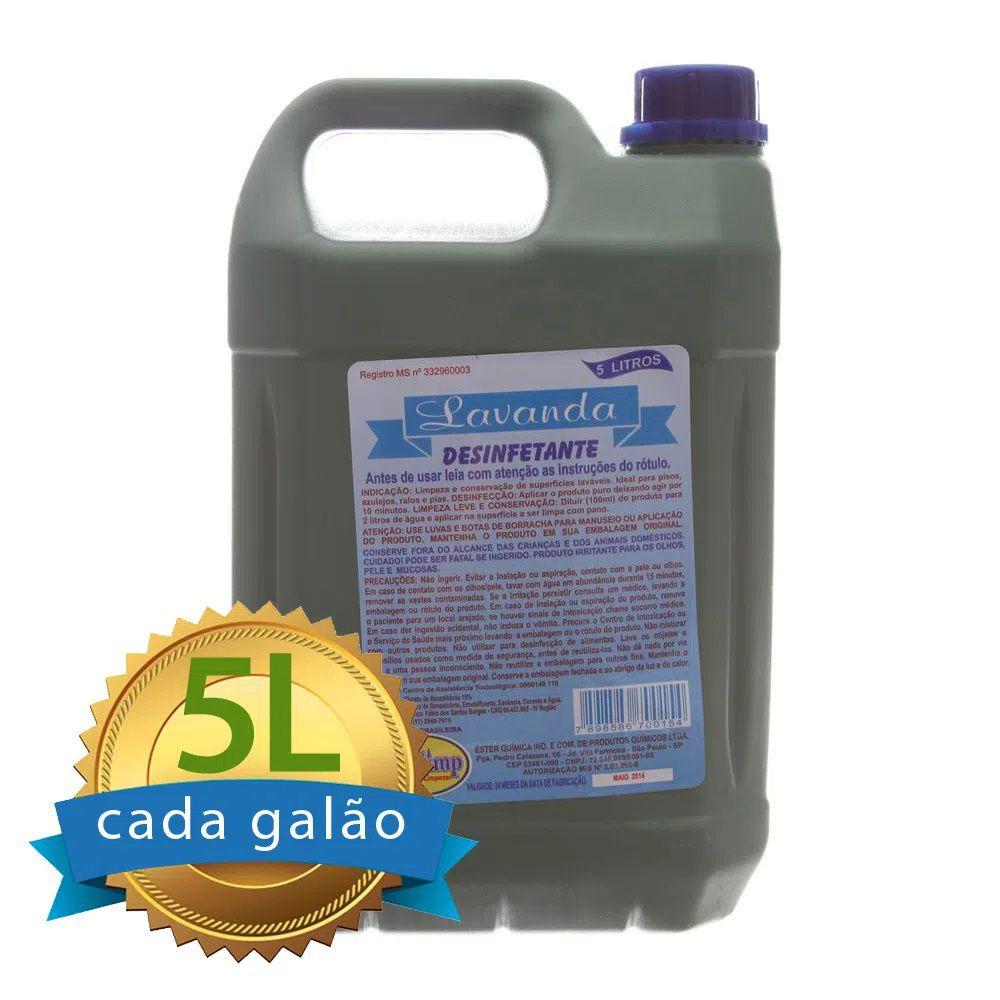 Desinfetante Lavanda Galão 5Lt  - Higinet