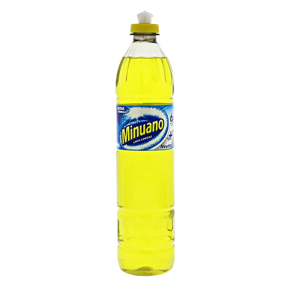 Detergente Neuro Minuano Frasco 500Ml  - Higinet