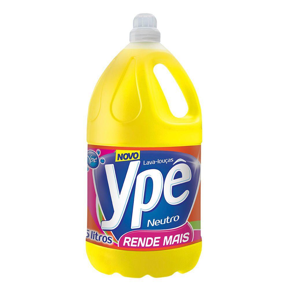 Detergente Neutro Ype Galão 5 Litros  - Higinet