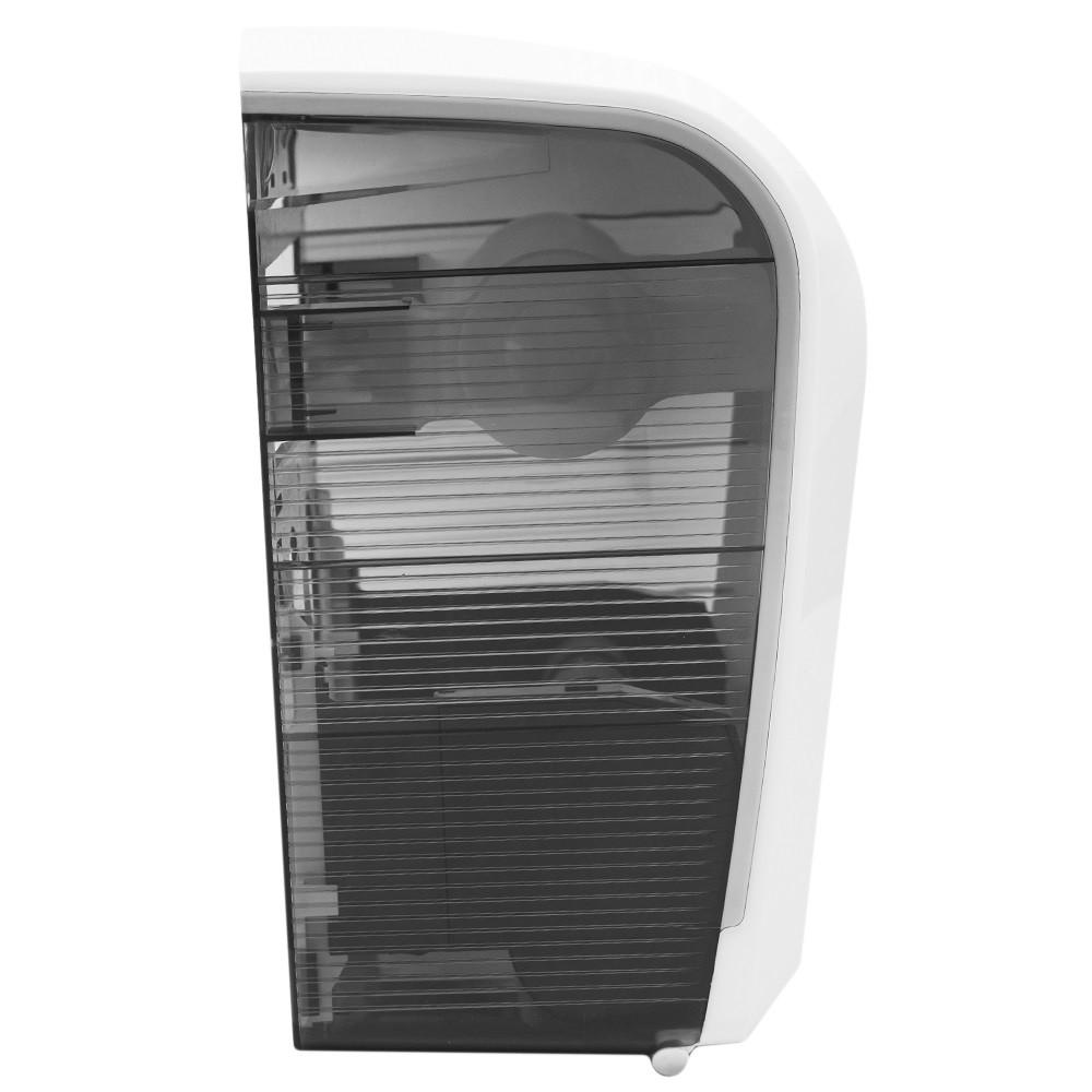 Dispenser Bobina Automático Branco/Fumê Elisa  - Higinet