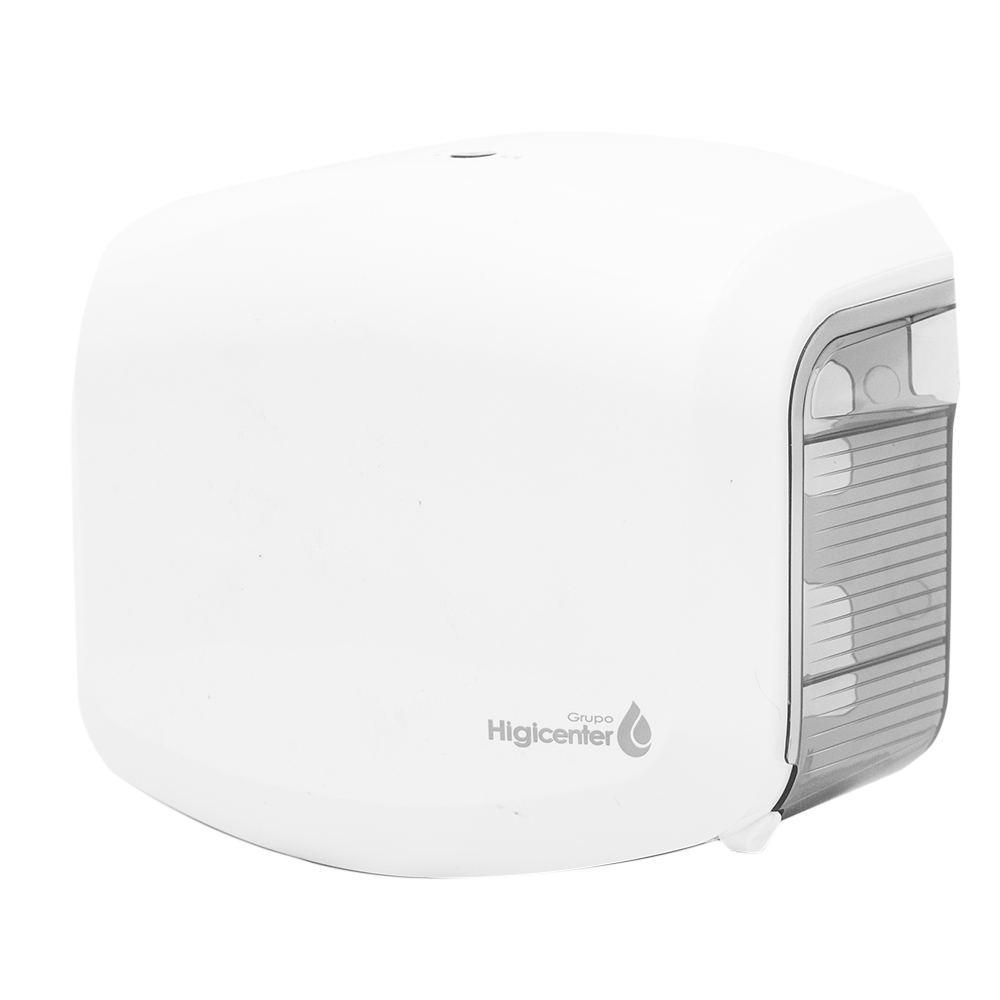 Dispenser Higiênico Kai Kai Branco/Fumê Elisa  - Higinet