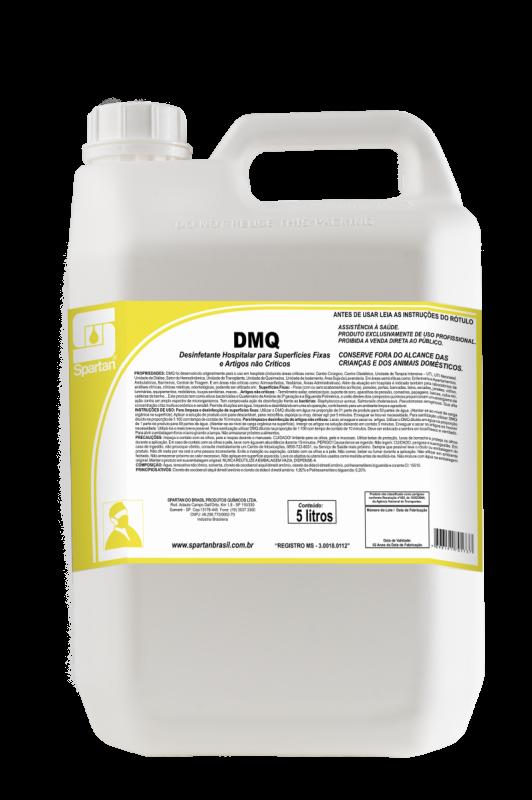 DMQ desinfetante hospitalar 5 Litros Spartan  - Higinet