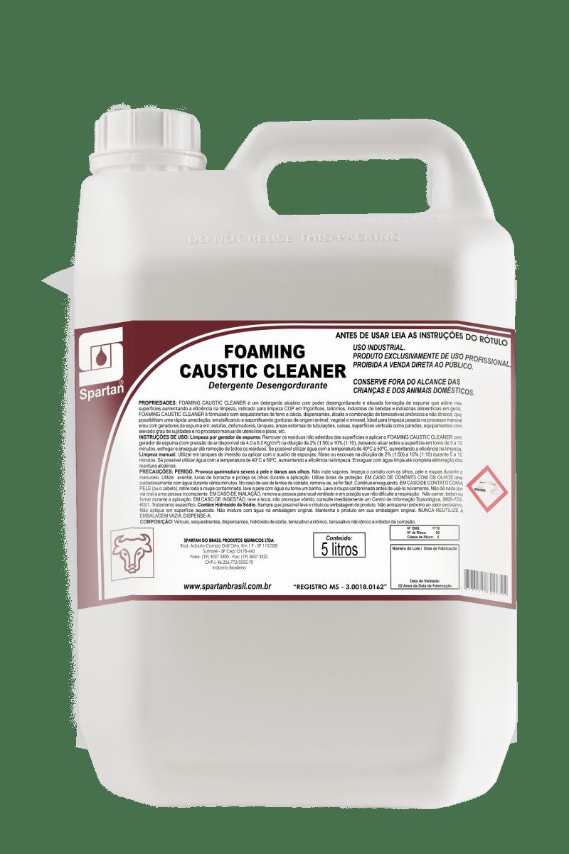 Foaming Caustic detergente desngordurante  - Higinet