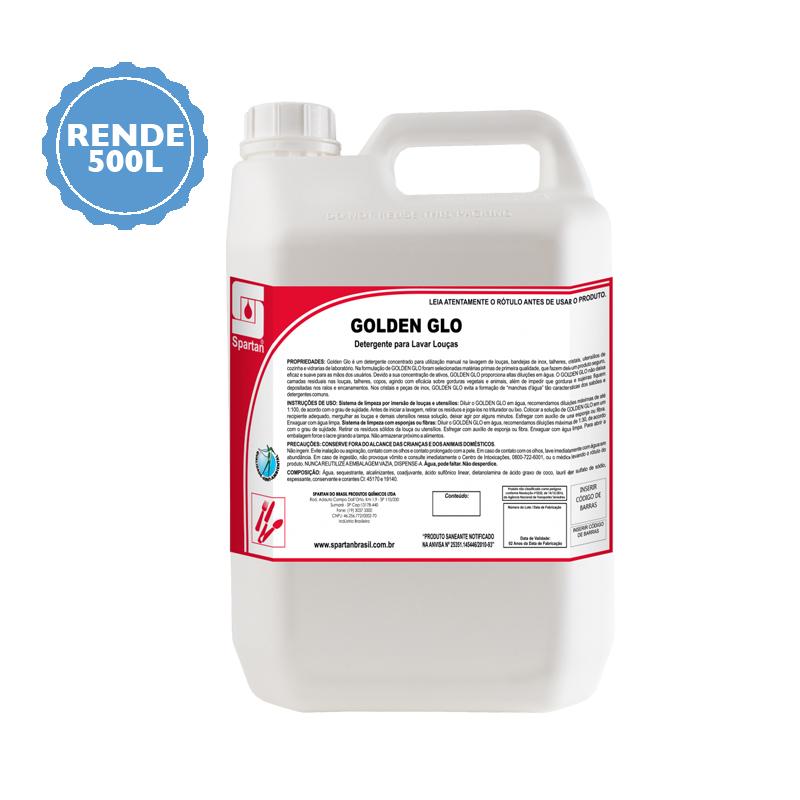 Golden Glo detergente neutro 5 Litros Spartan  - Higinet