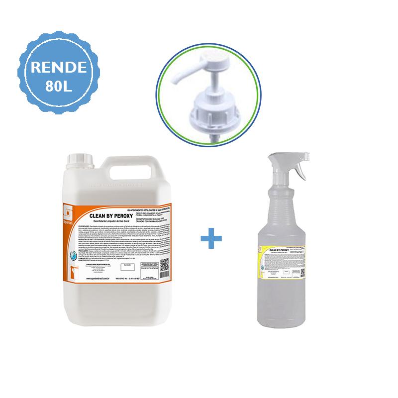 KIT 7 em 1 Produtos de Limpeza - Limpador Desinfetante Peroxy (Laudo Contra Covid-19)  - Higinet