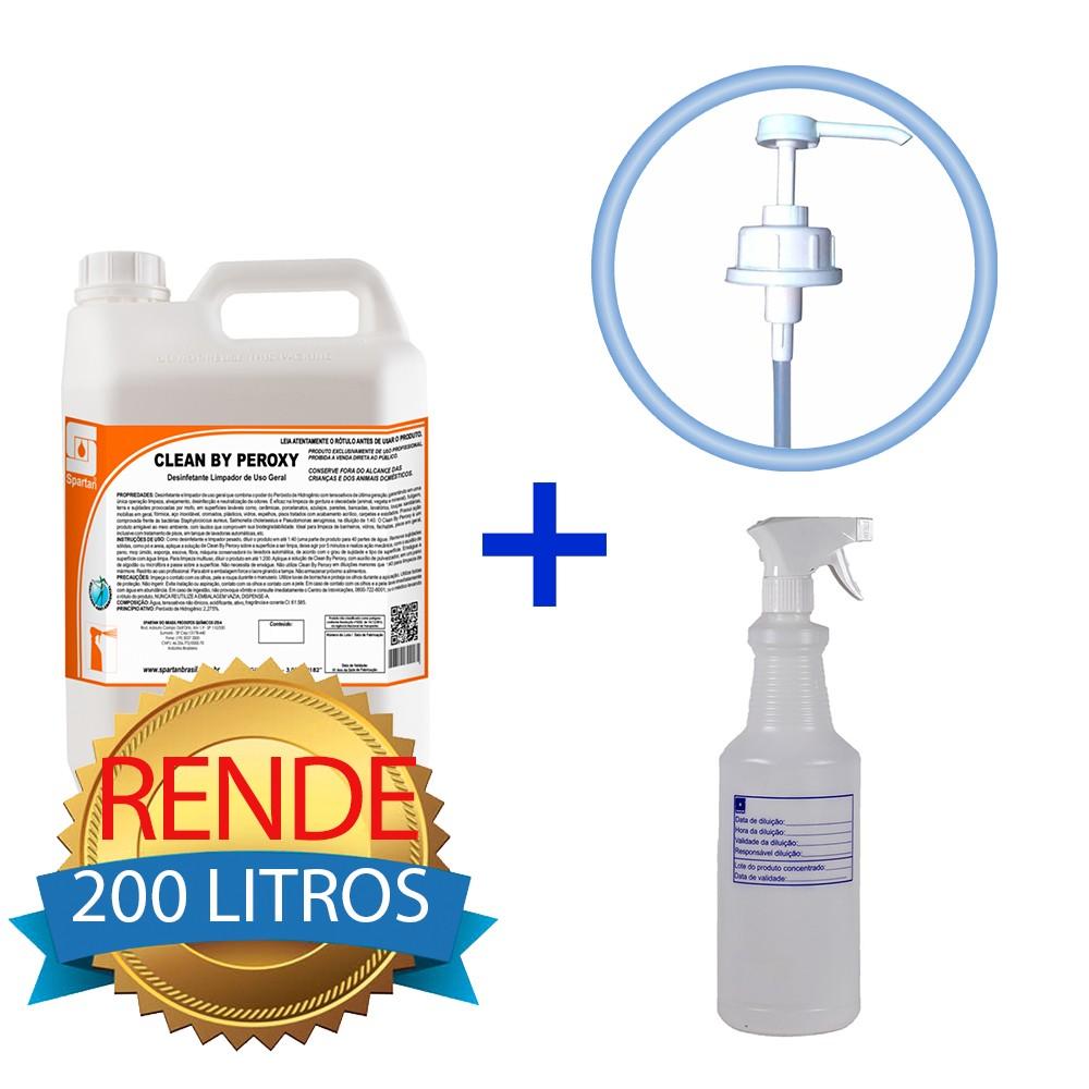 KIT Desinfetante Nível Hospitalar contra COVID-19  - Higinet