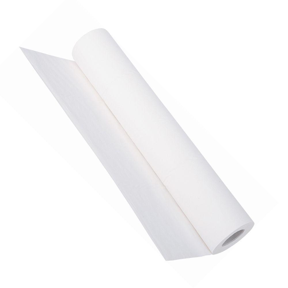 Lençol Hospitalar 50cmX50cm Branco c/6 Bobinas - 100% Celulose  - Higinet