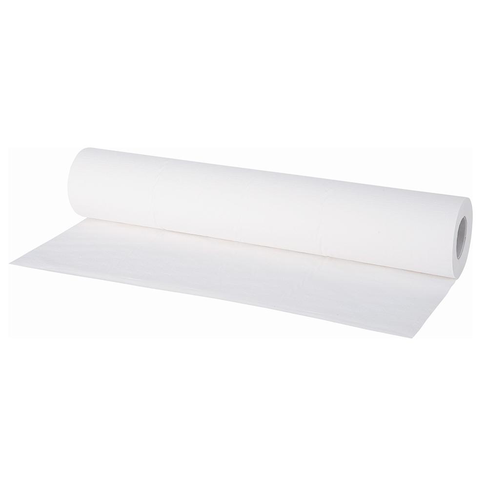 Lençol Hospitalar 70cmX50cm Branco c/6 Bobinas - 100% Celulose  - Higinet