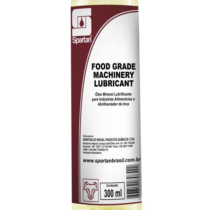 Óleo Lubrificante Food Grade Machinery Lubricant - 300ml  - Higinet
