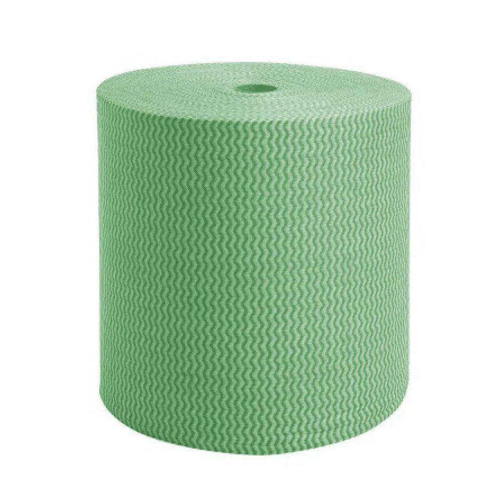 Pano Multiuso Em Rolo 300M (35G) - Verde  - Higinet