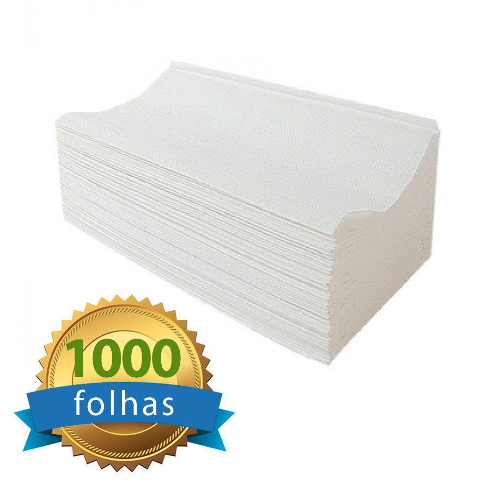 Papel Toalha Interfolha 100% celulose Folha Simples c/1000 folhas - Higipaper  - Higinet