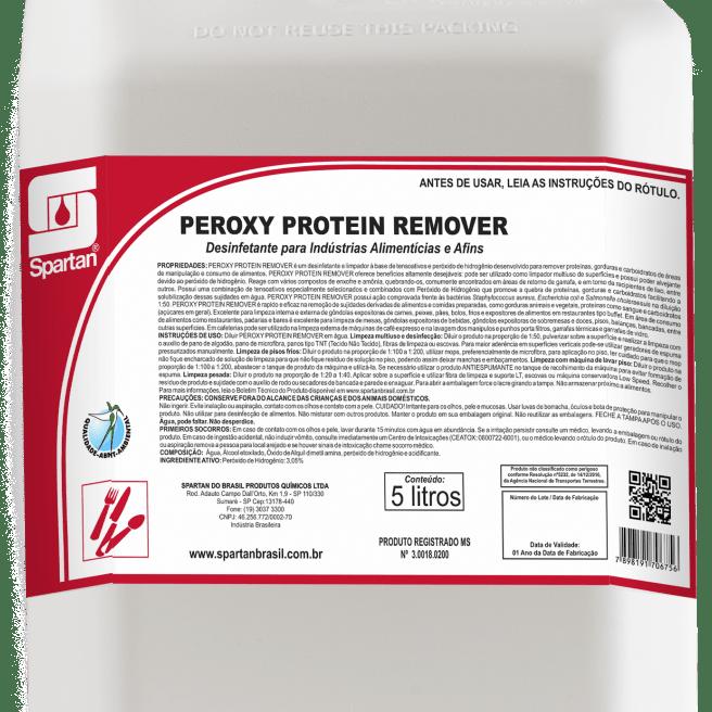 Peroxy Protein Remover Desinfetante 5 Litros Spartan  - Higinet