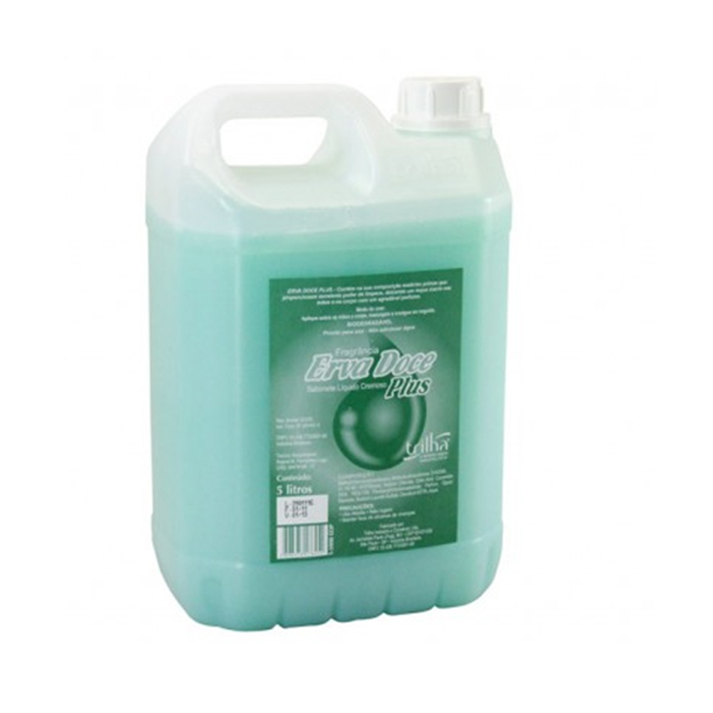 Sabonete Líquido Erva Doce Galão 5Lt  - Higinet