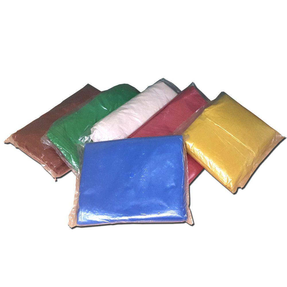Saco Para Lixo Capacidade 40 Litros (1,5Kg P1,5) Vermelho  - Higinet