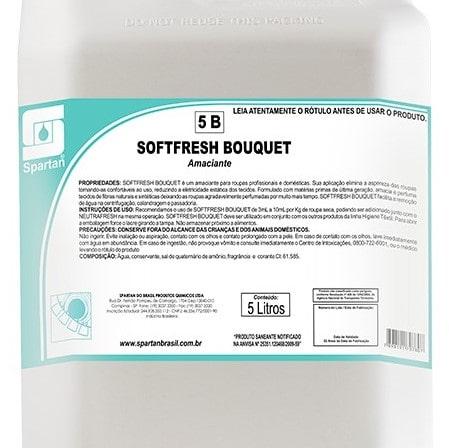 Softfresh Bouquet 5 Litros Spartan  - Higinet