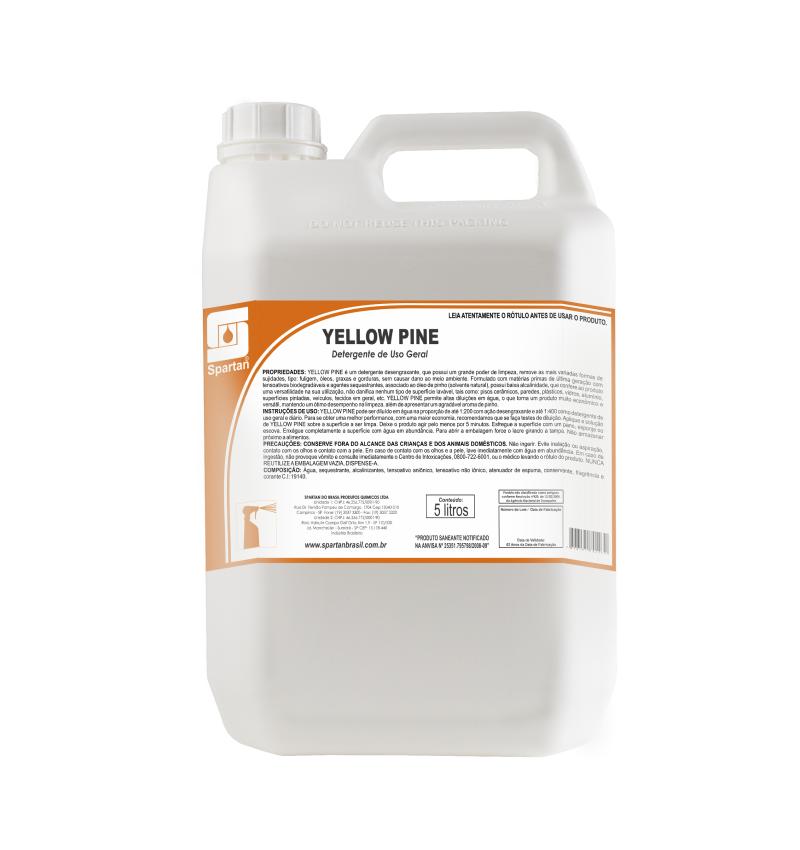 Desengordurante e Desengraxante Yellowpine - 5 Litros  - Higinet
