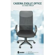 CADEIRA OFFICE EVOLUT EO-800 WOOF