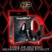 FONE DE OUVIDO HEADSET GAMER EVOLUT EG-302RD THARDUS