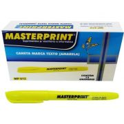 MARCA TEXTO MASTERPRINT AMARELO CX12 - MP612