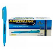 MARCA TEXTO MASTERPRINT AZUL CX12 - MP612