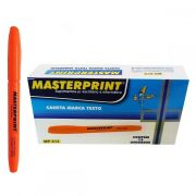 MARCA TEXTO MASTERPRINT LARANJA CX12 - MP612
