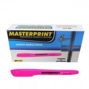 MARCA TEXTO MASTERPRINT ROSA CX12 - MP612