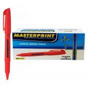 MARCA TEXTO MASTERPRINT VERMELHO CX12 - MP612