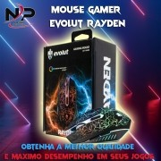 MOUSE GAMER ÓPTICO RAYDEN  EG-104RB– EVOLUT - 2400 DPI