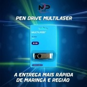 PEN DRIVE TWIST 8GB MULTILASER