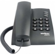 TELEFONE PLENO PRETO INTELBRAS COM FIO