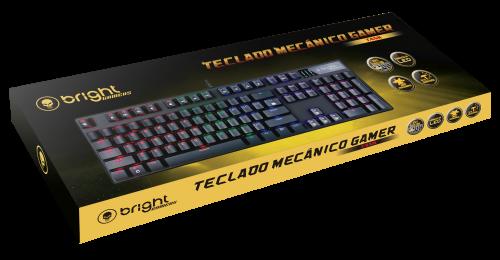 TECLADO MECÂNICO GAMER TANK BRIGHT