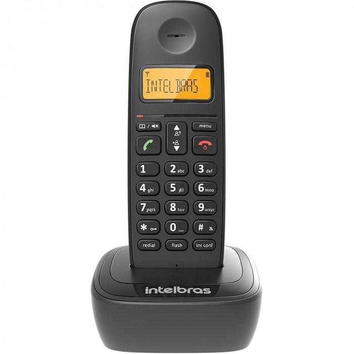 TELEFONE SEM FIO COM IDENTIFICADOR TS2510 ID PRETO INTELBRAS