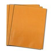 Papel de Seda Laranja 48x60 cm | 1 Pct c/ 100 folhas