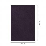 Papel de Seda Marrom 48x60 cm   1 Pct c/ 100 folhas