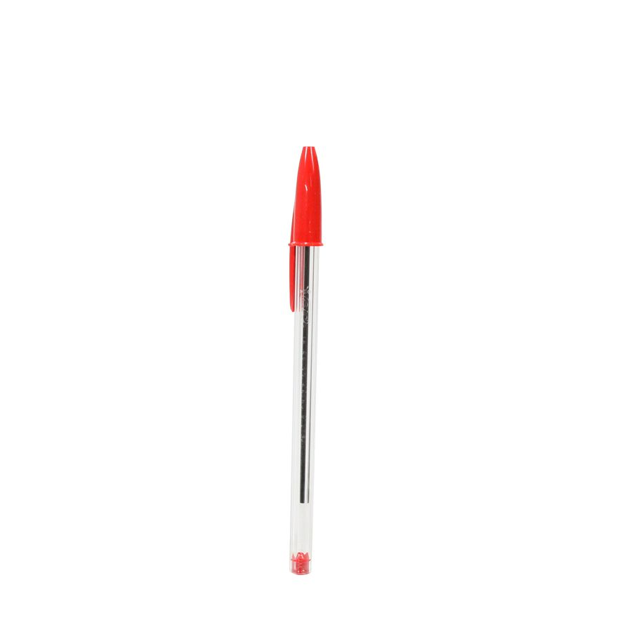 Caneta esferog 1.0 mm cristal vermelha 835206 BIC - 1 unid