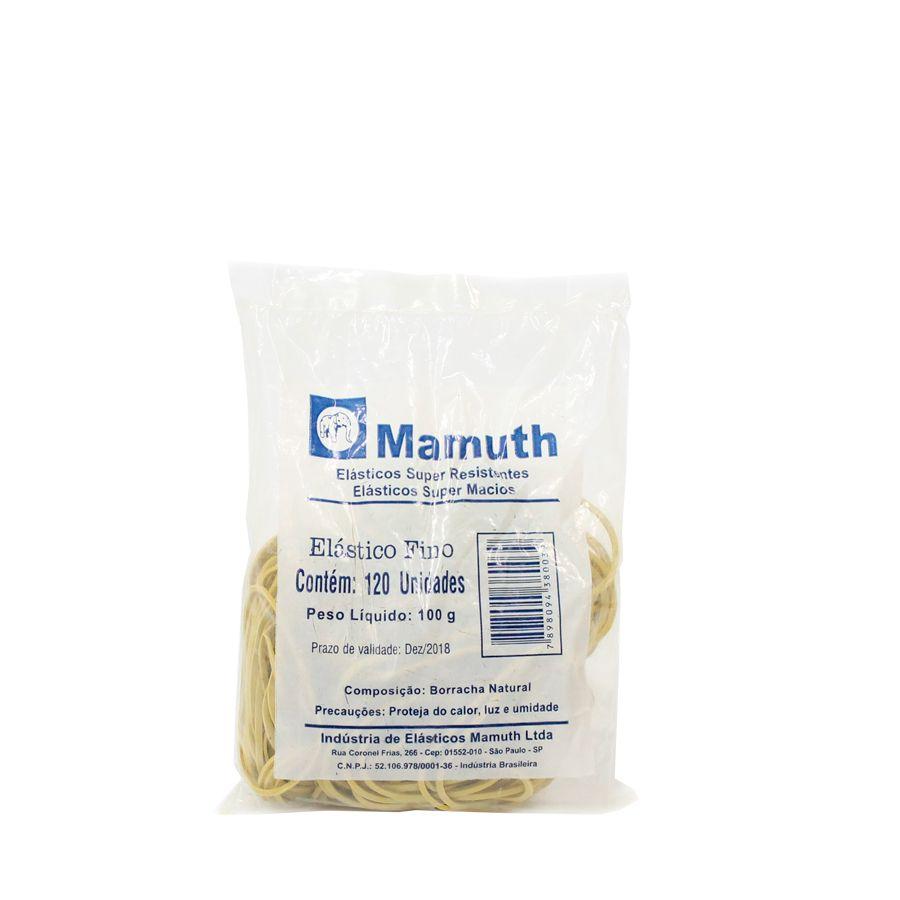 Elástico nr 18 - 1 pct c/ 100 gramas