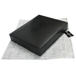 Kit Caixa de Presente 51 x 77 cm + Papel de Seda + Etiqueta | 1 Cx c/ 50 kits